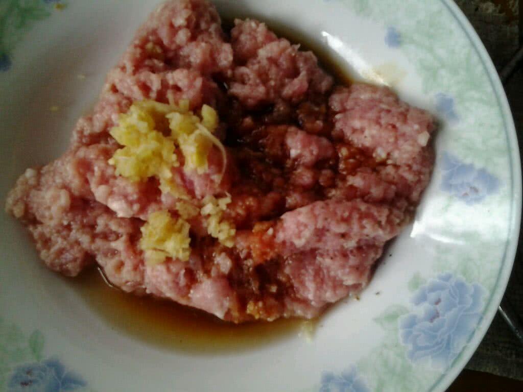 肉末蒸蛋的做法图解2