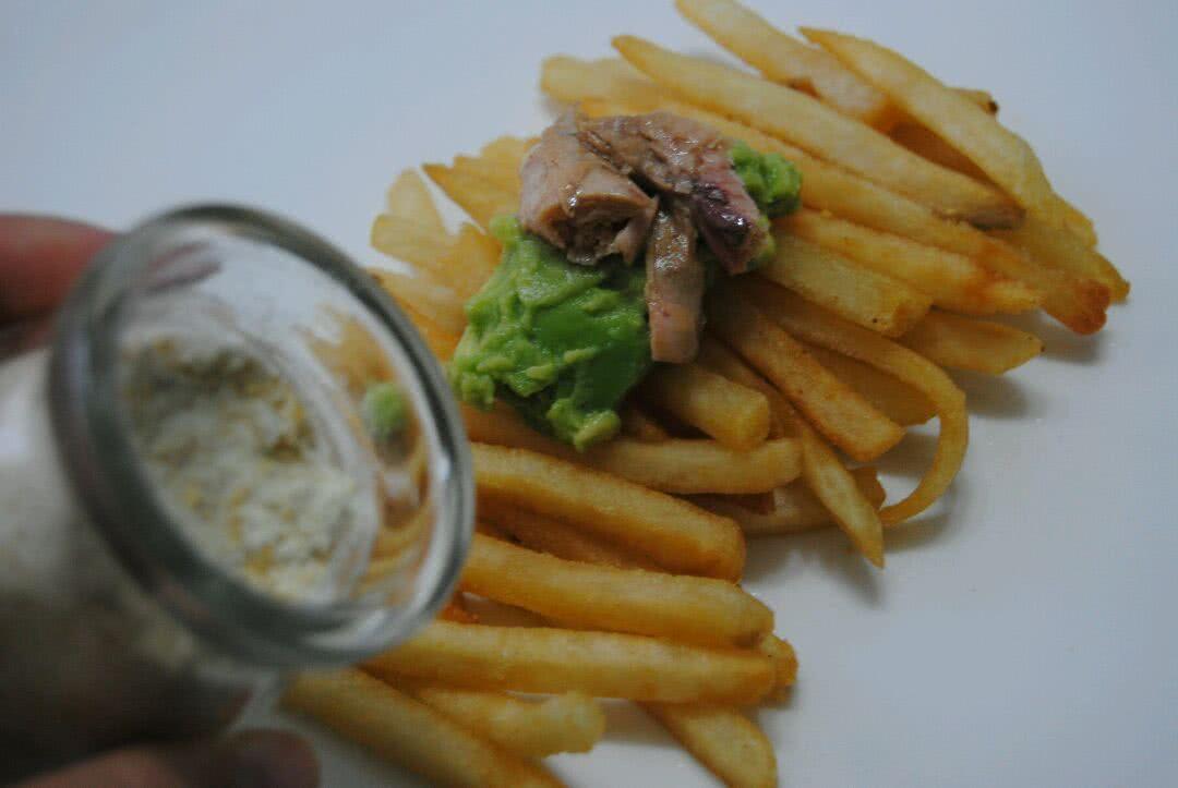 美國冷凍馬鈴薯#牛油果薯條沙拉的做法_【圖解 ...