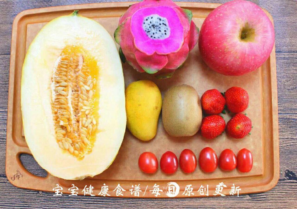 水果盘 宝宝健康食谱 的做法图解1