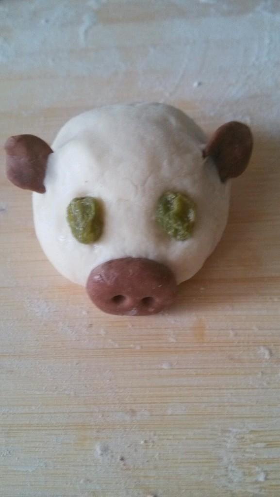 小猪馒头爱元宵的做法图解5