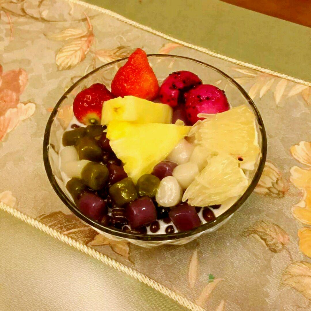 芋圆水果捞的做法图解4