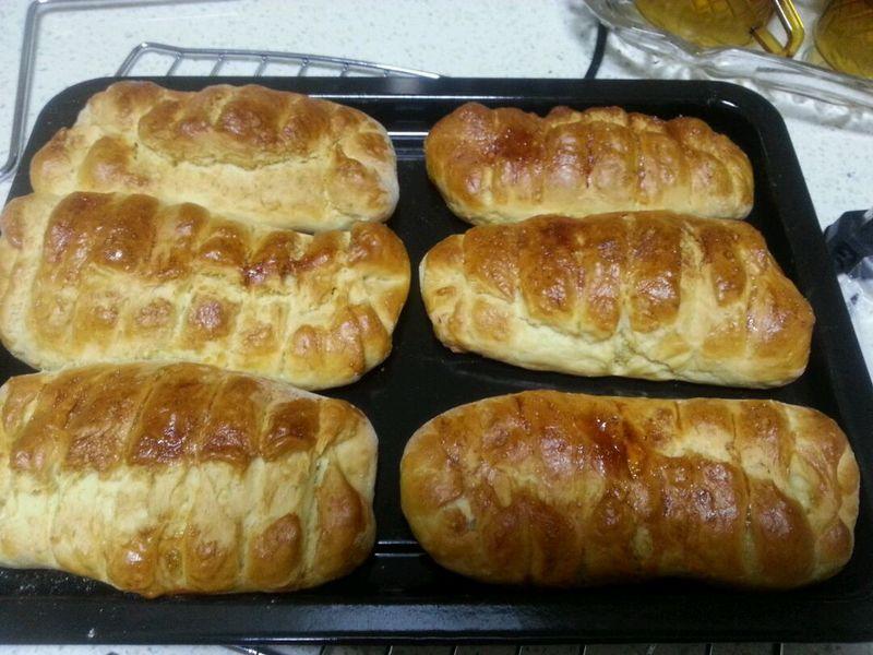 烤箱制作椰蓉面包的做法步骤