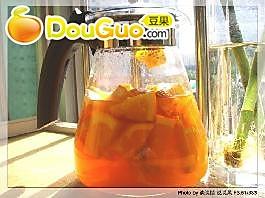 橙蜜红茶的做法