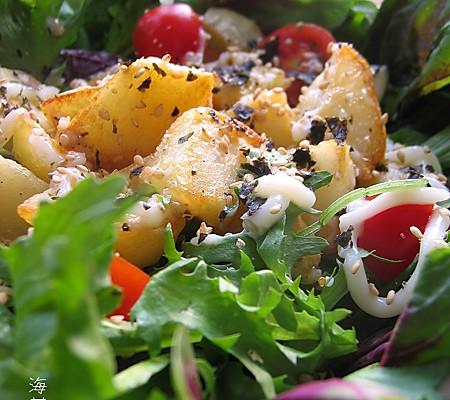 凉拌时蔬土豆沙拉的做法