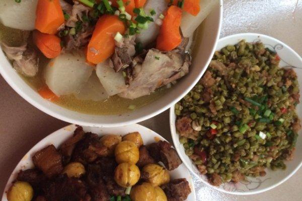 白酒一勺 四川泡豇豆炒肉末的做法步骤