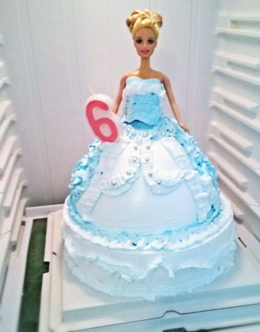 芭比蛋糕的做法图解4