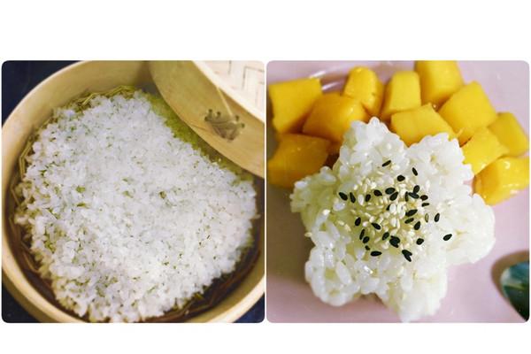 【-芒果糯米饭-】的做法_【图解】【-芒果糯米饭-】做