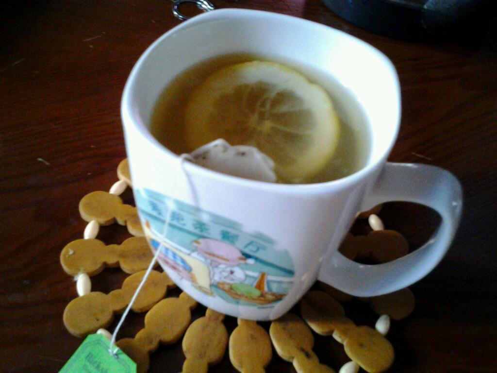 主料 蜂蜜 柠檬 绿茶包 蜂蜜柠檬绿茶的做法步骤