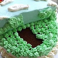 侏罗纪恐龙生日蛋糕#豆果5周年#的做法图解9