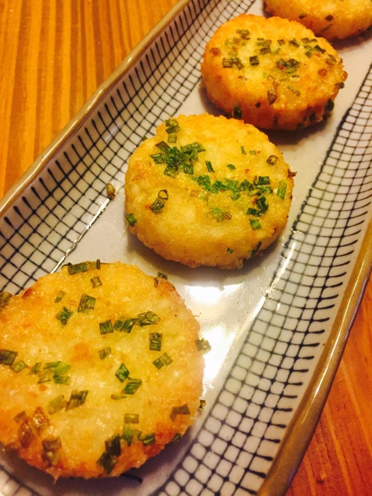 美国冷冻马铃薯#香葱薯饼的做法图解6