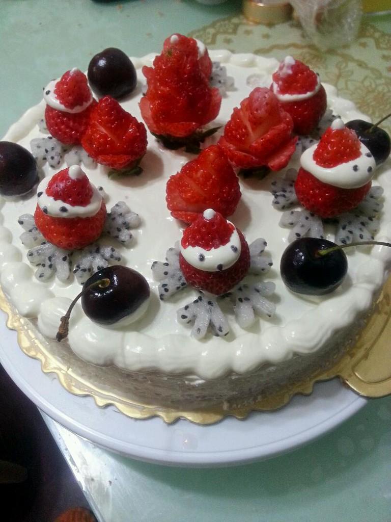 生日蛋糕的做法图解8