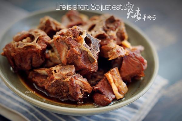炖羊饭食的蝎子_【图解】炖羊蝎子做晚上吃什么最好谱6做法图片