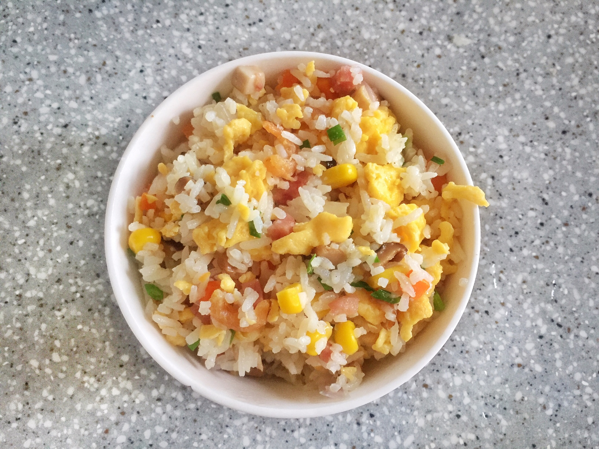 蛋炒饭的做法图解5