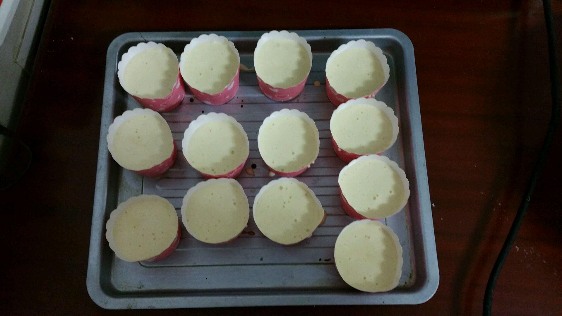 纸杯蛋糕的做法步骤