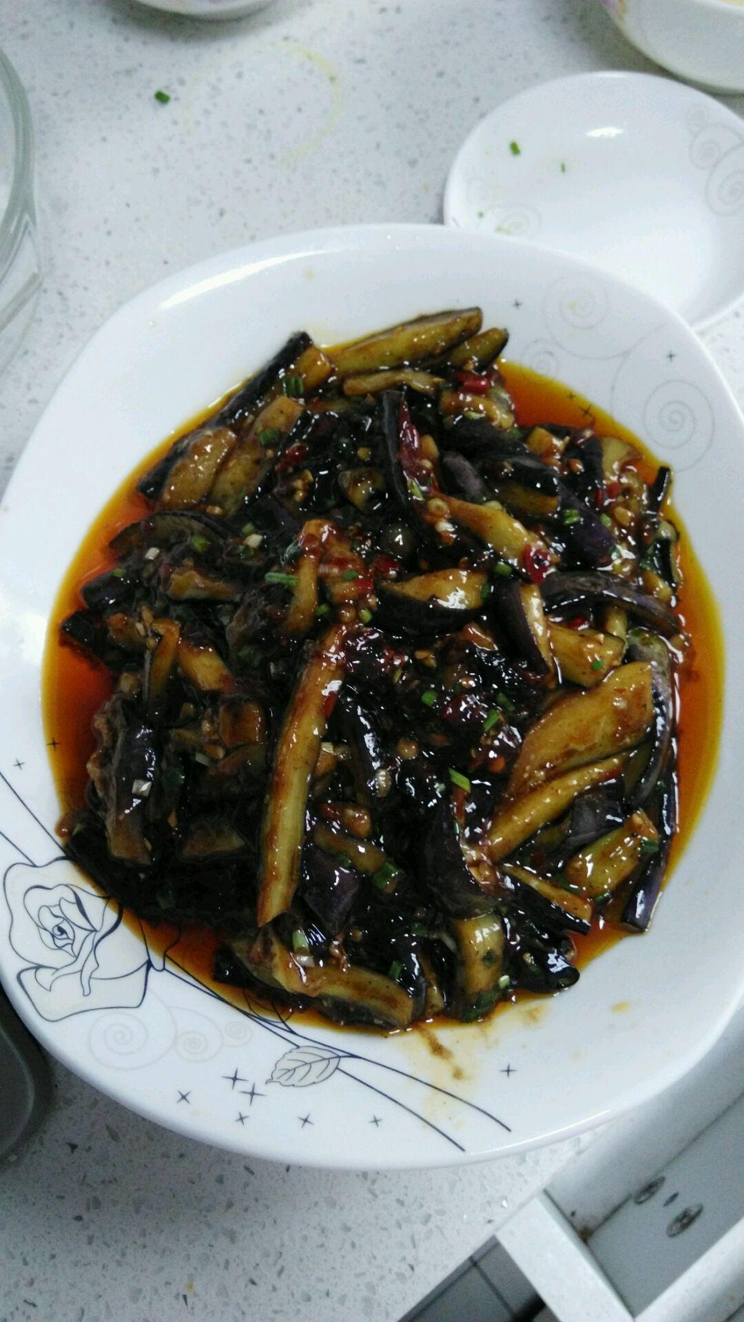 油淋茄子的做法_【图解】油淋茄子怎么做如何做好吃