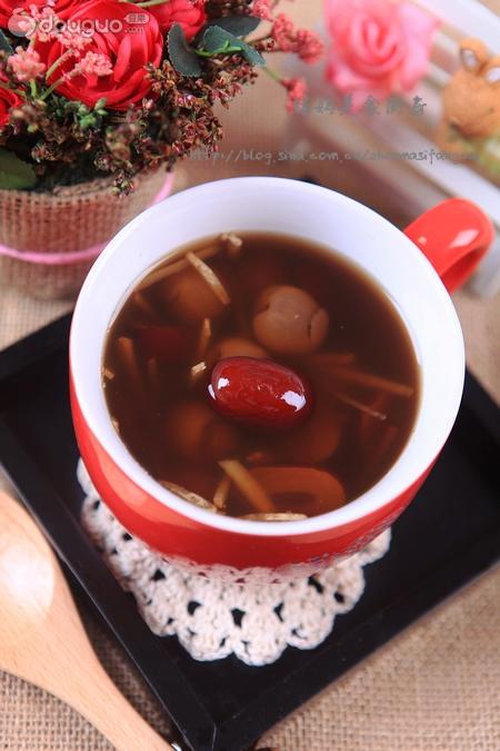红枣桂圆姜茶的做法_【图解】红枣桂圆姜茶怎么做