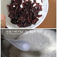 红豆浆蔓越莓司康的做法图解1