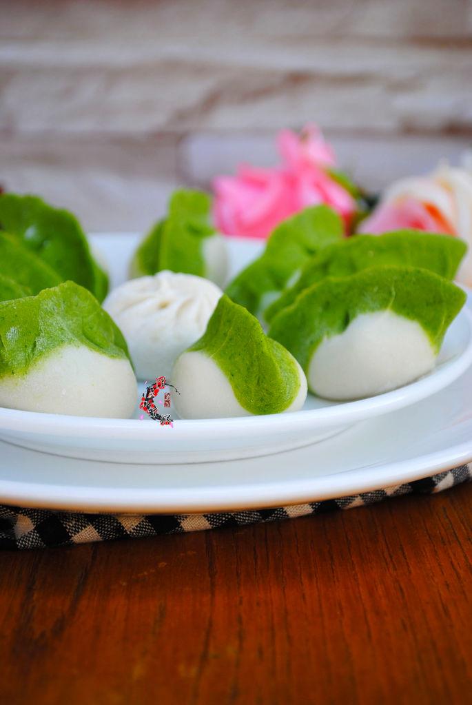 牛肉馅翡翠饺子的做法图解10
