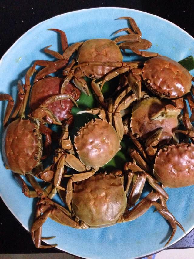 酱煮螃蟹的做法图解3