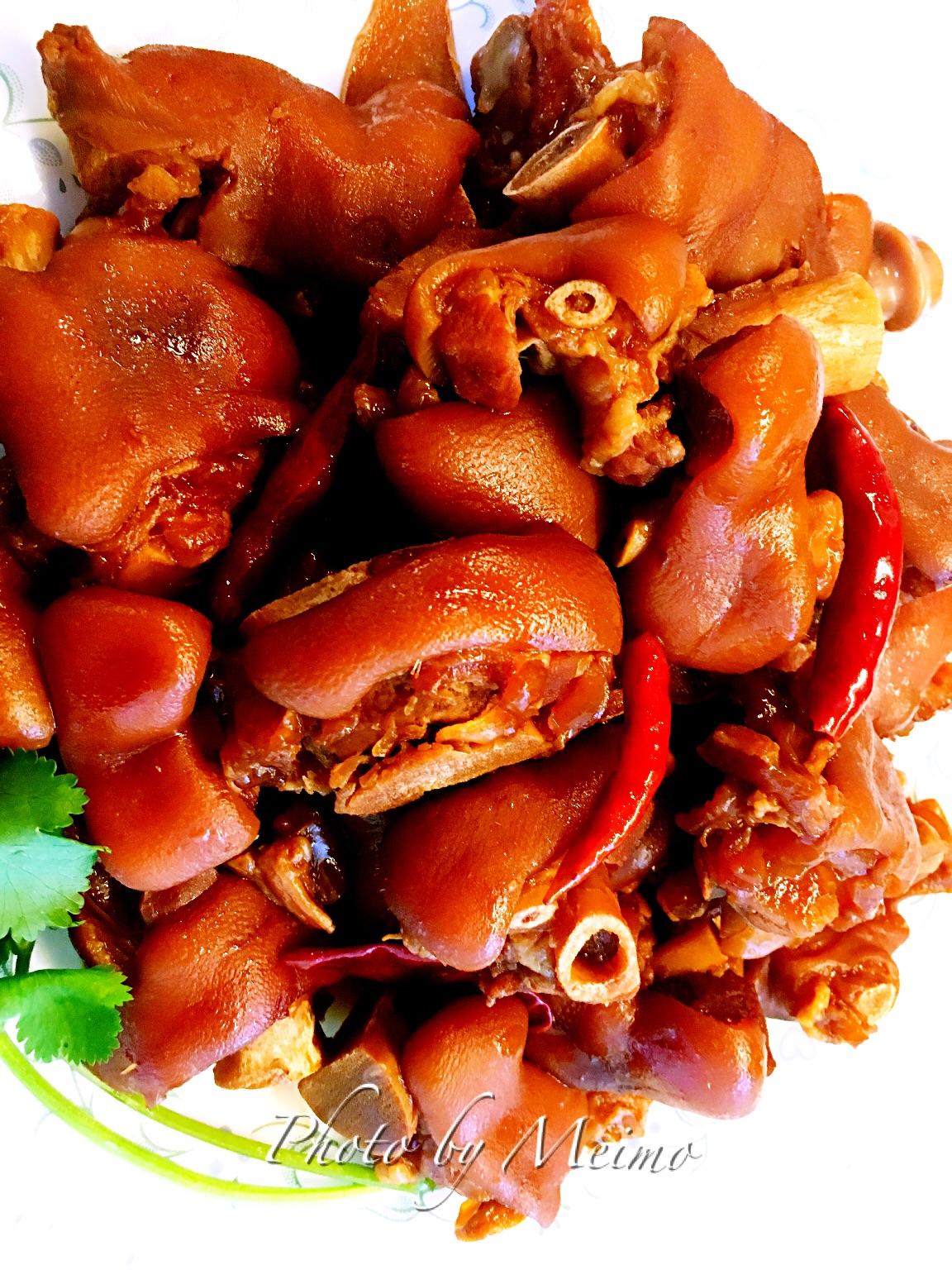 辣卤猪脚的做法_【图解】辣卤猪脚怎么做如何做好吃