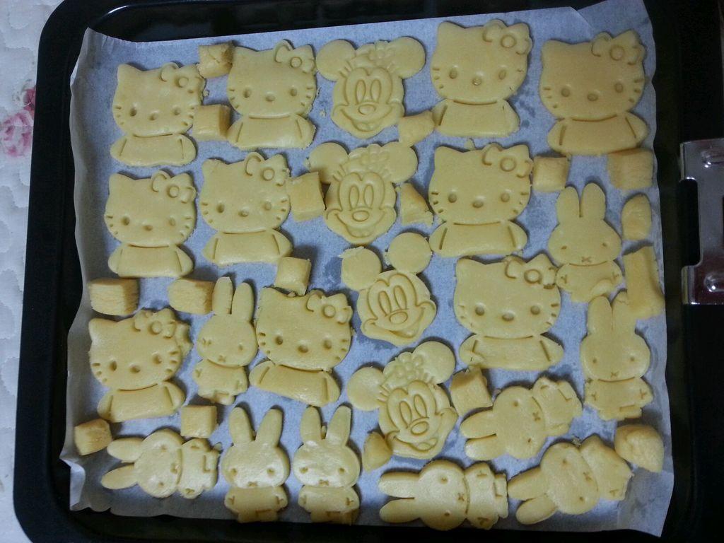 长帝ckf-30gu烤箱版模具饼干的做法图解6