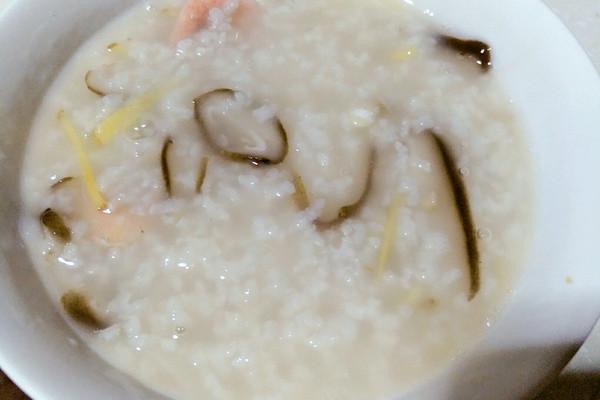 鲜虾香菇粥的做法_【图解】鲜虾香菇粥怎么做