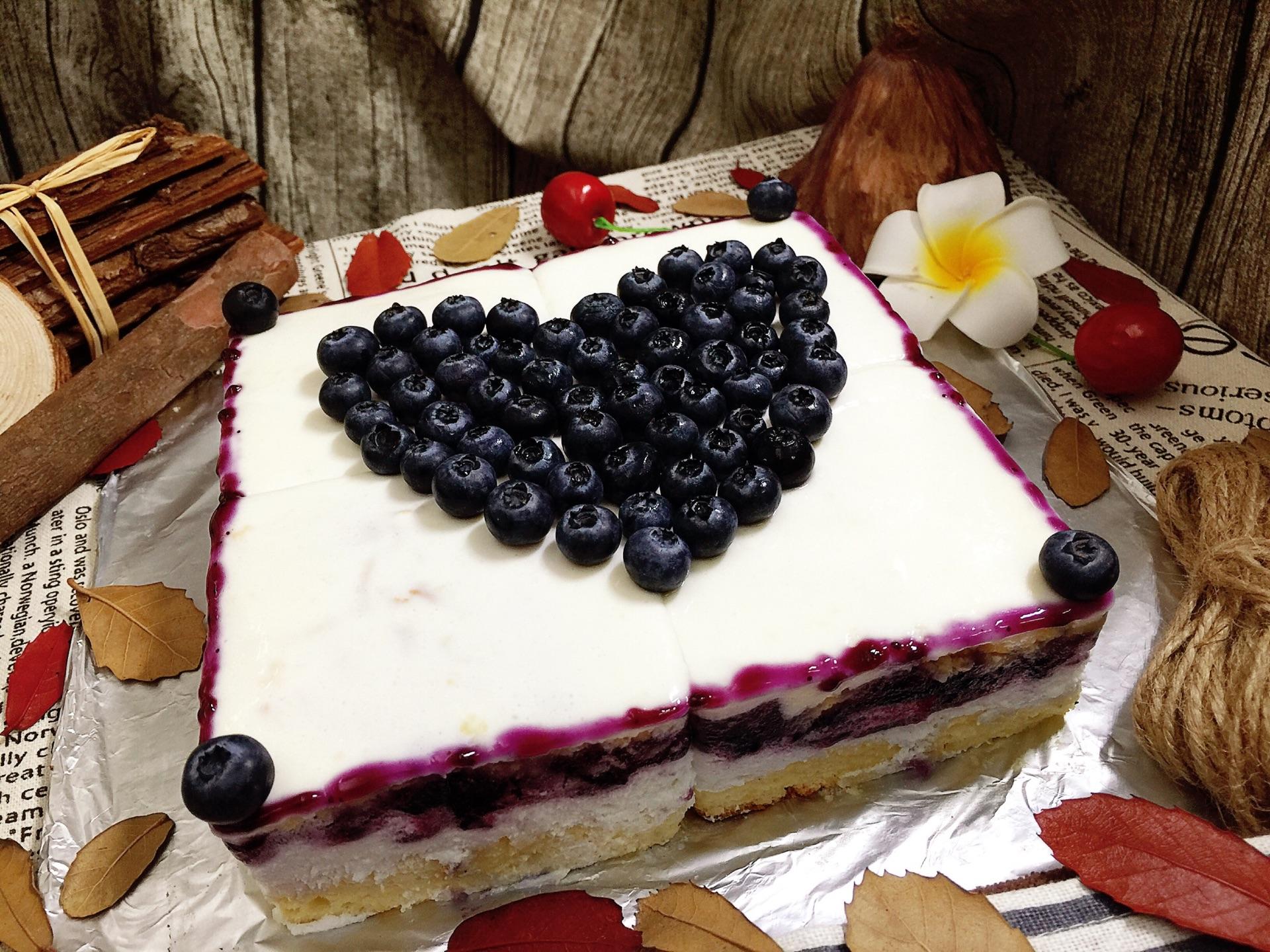 蓝莓慕斯蛋糕的做法图解42