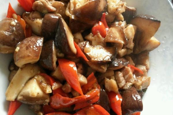 香菇炒肉的做法_【图解】香菇炒肉怎么做如何做好吃