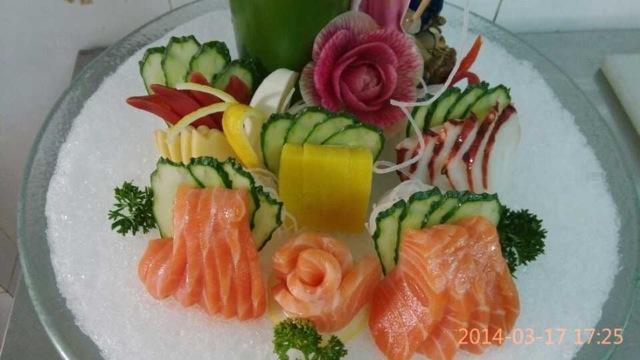 刺身三文鱼的做法图解5