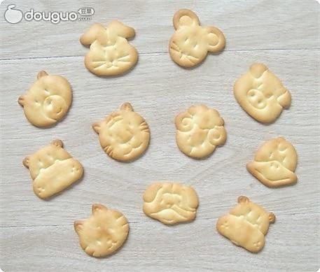 动物造型饼干的做法