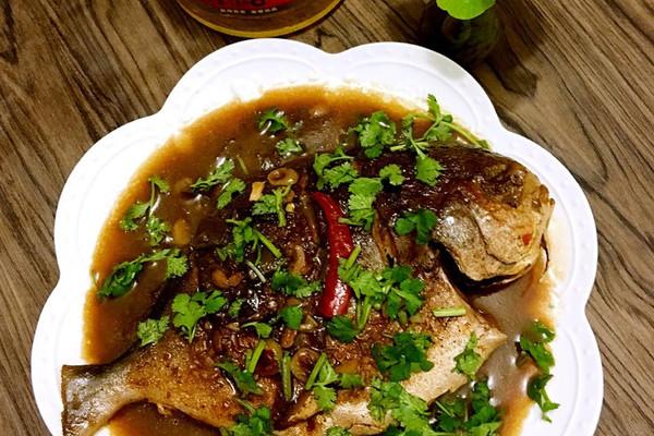 香菜适量#a香菜年夜饭#红烧年糕的菜谱做法本鲳鱼的做法由家常菜辣炒步骤图片