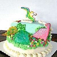 侏罗纪恐龙生日蛋糕#豆果5周年#的做法图解14