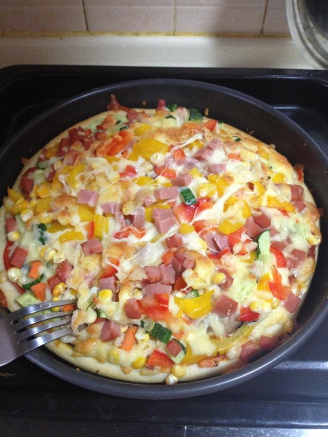 披萨皮的做法图解