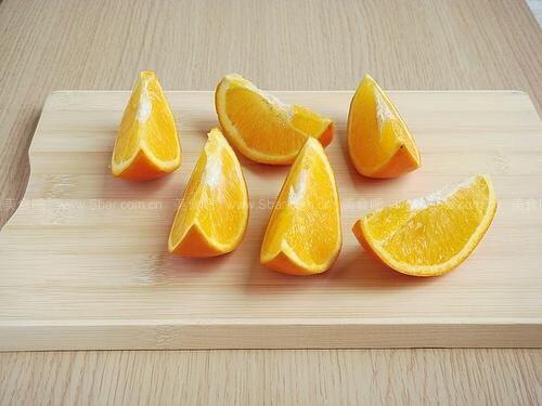 橙子拼盘可爱做法