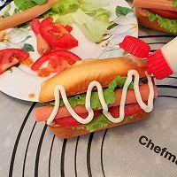 沙拉热狗包#丘比轻食厨艺大赛#的做法图解15