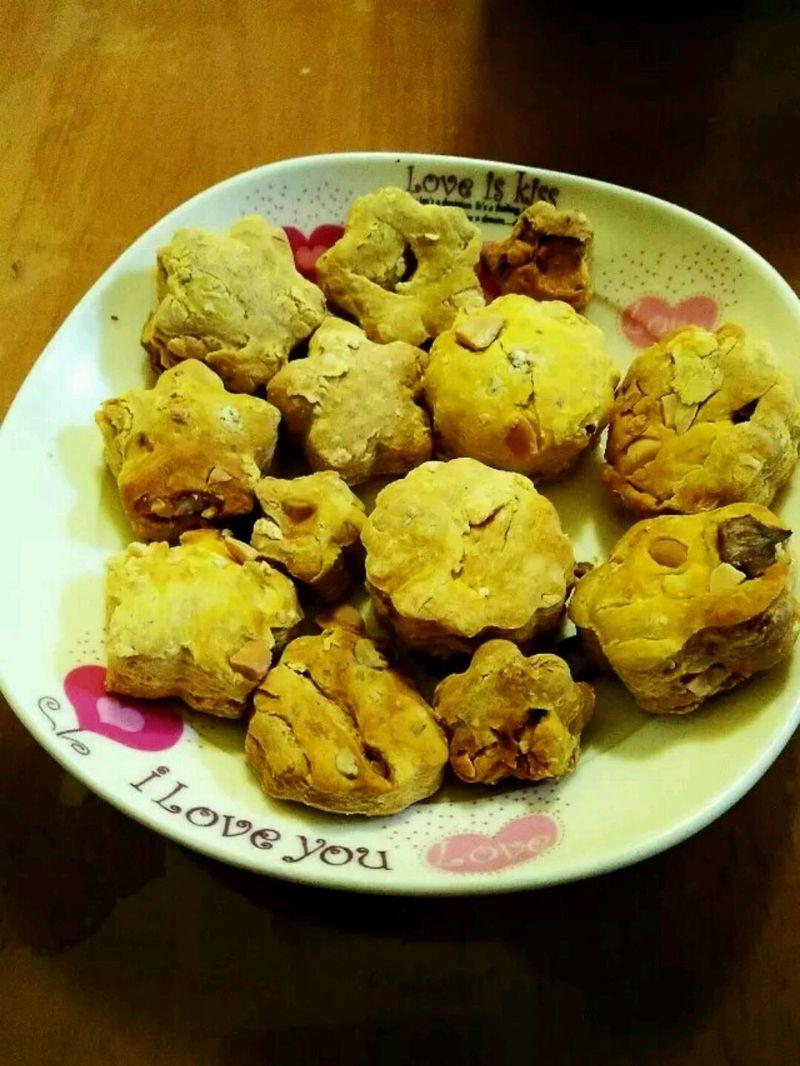 烤箱南瓜饼干的做法_【图解】烤箱南瓜饼干怎么做