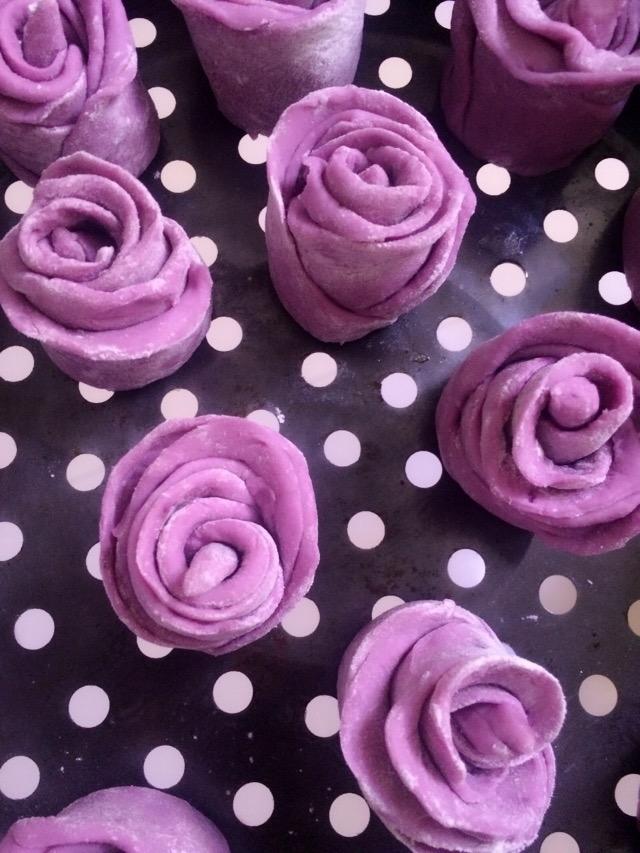 紫薯简笔画矢量图
