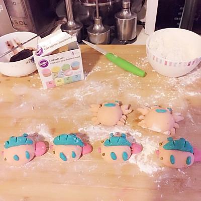 小动物豆沙包的做法_【图解】小动物豆沙包怎么做