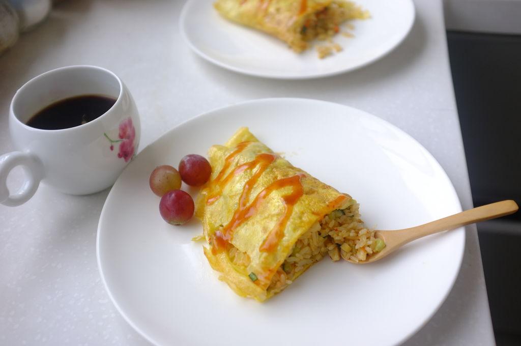 简单蛋包饭的做法图解6