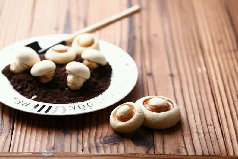蘑菇饼干的做法图解12