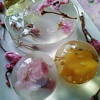 花之语水晶玄饼(可以吃的茶冻。美的不忍下口)的做法图解11
