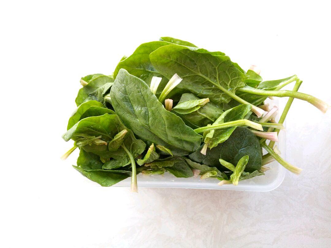 菠菜拌肝的做法_【图解】菠菜拌肝怎么做如何做好吃