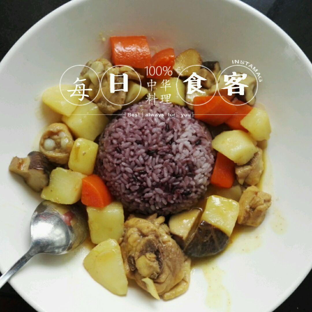 宝宝美食~咖喱鸡饭的做法图解16