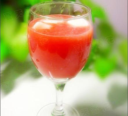 鲜奶西瓜汁的做法