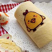新春盛宴——【步步高升——鸡年主题蛋糕卷】