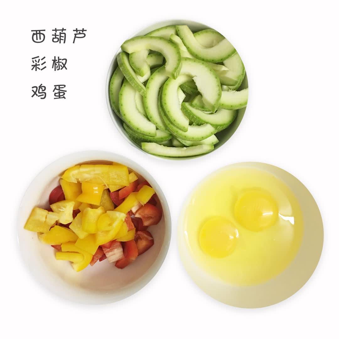 西葫芦番茄炒蛋的做法图解1