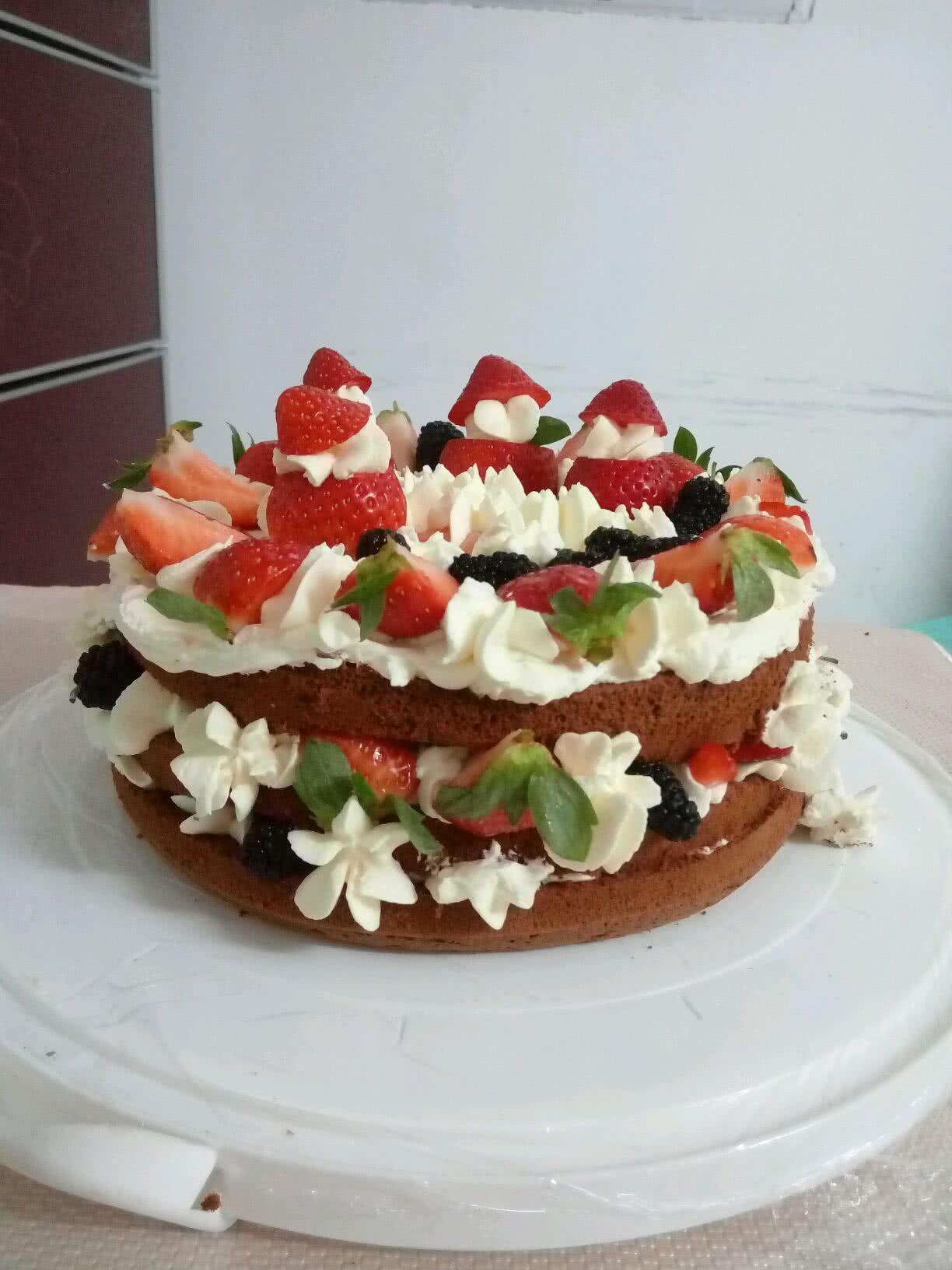 特别是简单又漂亮的裸蛋糕!