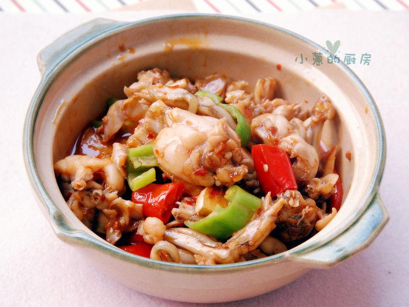 泡椒牛蛙砂锅煲的做法_【图解】泡椒牛蛙砂锅煲怎么做