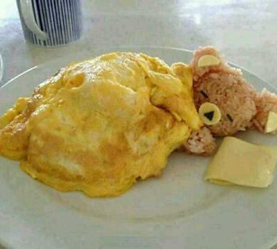 可爱小熊饭团的做法_【图解】可爱小熊饭团怎么做