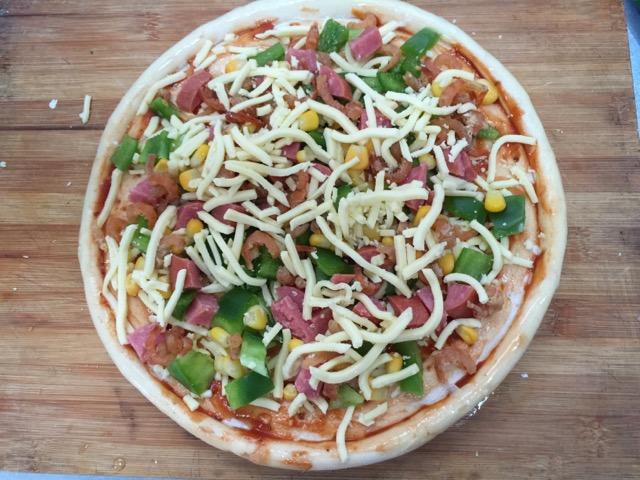 披萨的做法步骤